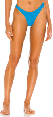 Frankie's Bikinis Boots Ribbed Bikini Bottom