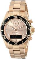 Invicta Men's 12473 Pro Diver Analog-Digital Display Swiss Quartz Watch