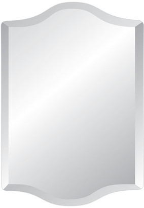 """Westminster Spancraft Frameless Mirror with Polished Beveled Edges, 24""""x36"""""""