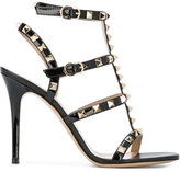 Valentino Rockstud sandals - women - Calf Leather/Leather/Metal (Other) - 36