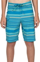 Volcom Boy's Magnetic Liney Board Shorts
