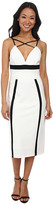 ABS by Allen Schwartz Color Block Fitted Dress