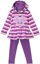 Children's Apparel Network Sesame Street Abby Cadabby Stripe Hoodie & Leggings - Infant