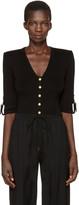 Balmain Black V-Neck Pullover