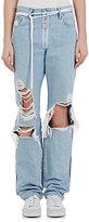 Off-White Women's Levi's® Distressed Boyfriend Jeans