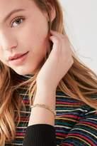 Urban Outfitters Braided Chain Slider Bracelet