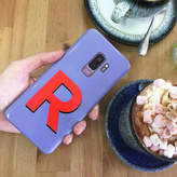 Rianna Phillips Purple And Red Alphabet iPhone And Samsung Case