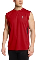 U.S. Polo Assn. Men's Side Haltone Print Sleeveless Top