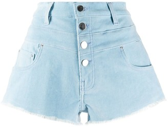 Amiri High-Waisted Denim Shorts