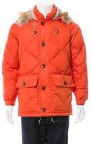 Todd Snyder Fur-Trimmed Puffer Jacket