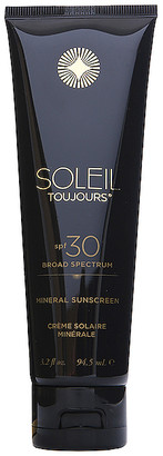 Soleil Toujours 100% Mineral Sunscreen SPF 30