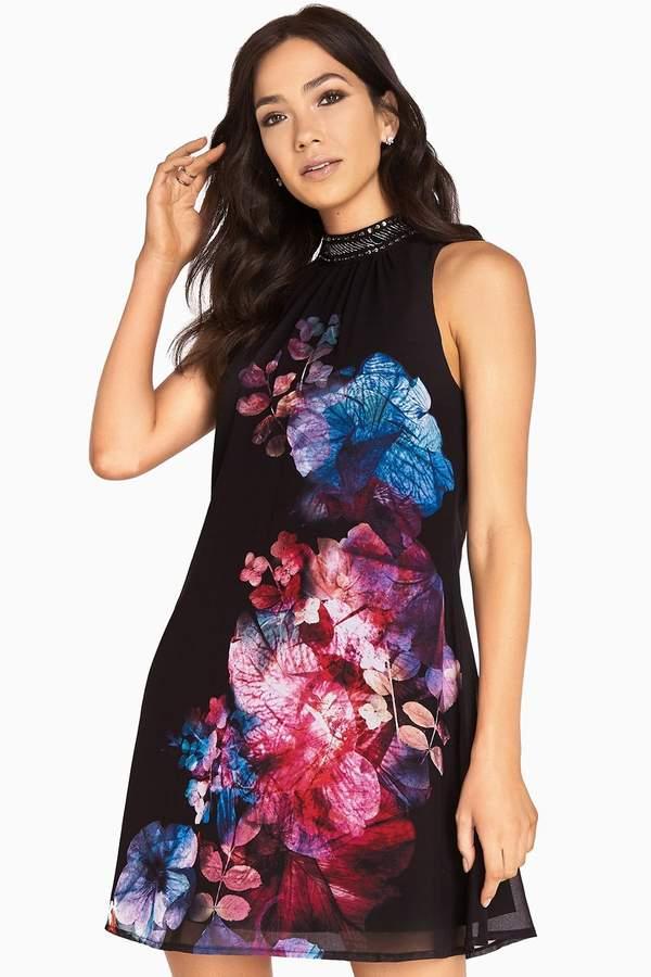 d16472af2cbb9 Little Mistress Print Shift Dresses - ShopStyle Australia