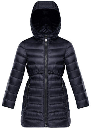 5d9b40f94 Quilted Ruffle-Trim Hooded Jacket, Size 8-14