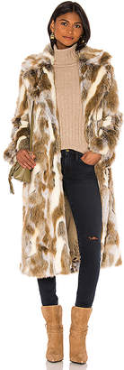 Nili Lotan Faux Fur Simon Coat