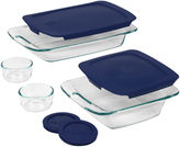 Pyrex Easy Grab 8-pc. Bake and Store Set