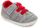 Stride Rite Infant Boys) Grey & Red Goodwin Sneakers