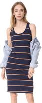 Stateside Jersey Striped Dress