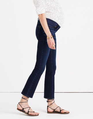 Madewell Maternity Cali Demi-Boot Jeans in Hayes Wash