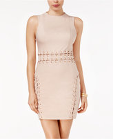GUESS Miranda Lace-Up Bodycon Dress