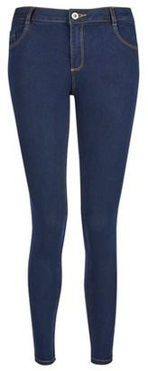 Dorothy Perkins Womens Petite Indigo 'Ellis' Skinny Jeans