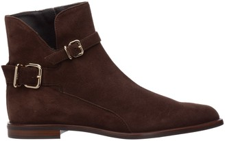 Tod's Buckle Detailed Ankle Boots