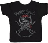 Motorhead Shiver Me Timbers Official New Toddler Shirt (Ages 3-24months)