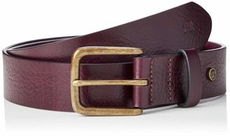 Scotch & Soda Men's Classic Wide Leather Belt