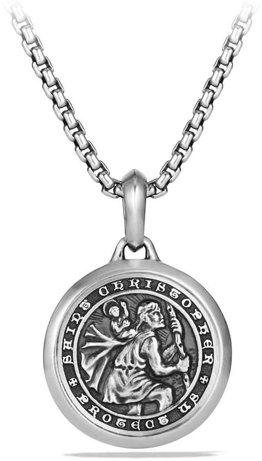 David Yurman St. Christopher Amulet