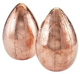 Lazy Susan Dimond Home Metallic Egg in Copper (Set of 2)