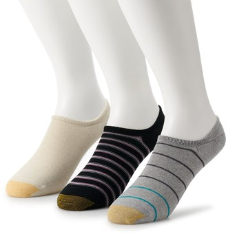 Gold Toe Big & Tall GOLDTOE 3-pack Extended Size Oxford Liner Socks