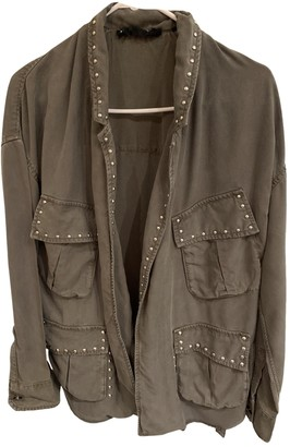The Kooples Green Cotton Jackets
