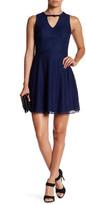 Sequin Hearts Lace Mini Dress (Juniors)