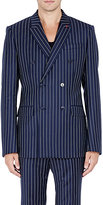 Givenchy MEN'S PINSTRIPED TWILL DOUBLE-BREASTED SPORTCOAT