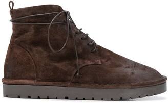 Marsèll Smooth Lace-Up Boots