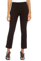 Eileen Fisher Slim Cropped Side Slits Pants