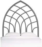 David Francis Furniture Cathedral Headboard - Steel Gray