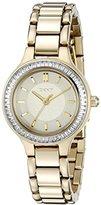 DKNY Women's NY2392 CHAMBERS Gold Watch