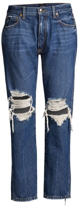 KHAITE Kyle Low-Rise Relaxed Jeans