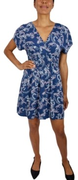BeBop Juniors' Paisley-Print Dress