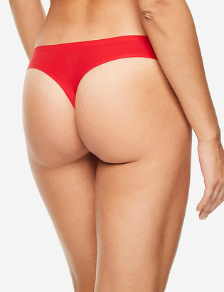 Chantelle Soft Stretch mid-rise stretch-woven thong