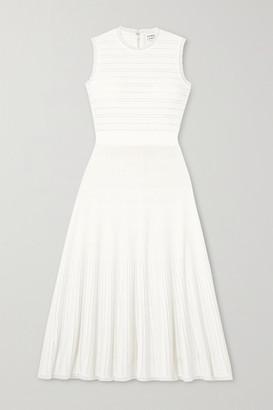 Herve Leger Bandage Midi Dress - White