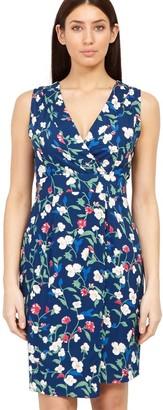 M&Co Izabel floral tie back dress