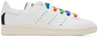 Stella McCartney White adidas Originals Edition Stan Smith Sneakers