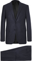 Ermenegildo Zegna - Blue Slim-fit Milano Wool And Cashmere-blend Suit