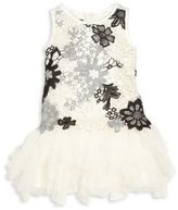 Biscotti Baby's & Toddler' Girl's Modern Princess Floral Lace Dress