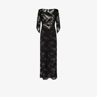 Agent Provocateur - Eileen Side Slit Maxi Dress - Women's - Polyamide