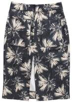 L'Agence Printed Pencil Skirt