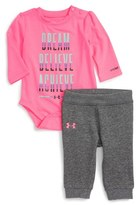 Under Armour Dream Believe Achieve Bodysuit & Sweatpants Set (Baby Girls)