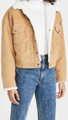 Levi's New Heritage Cord Trucker Jacket
