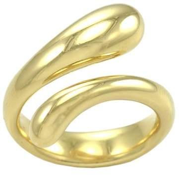 Tiffany & Co. and Co. Elsa Peretti 18K Yellow Gold Tear Drop Ring